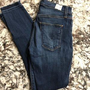 Hudson mid rise jeans 24